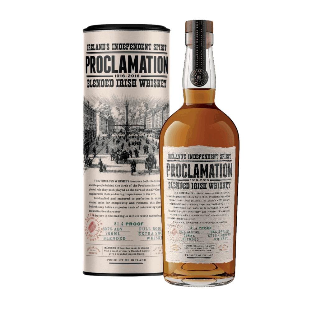 Whiskey Proclamation
